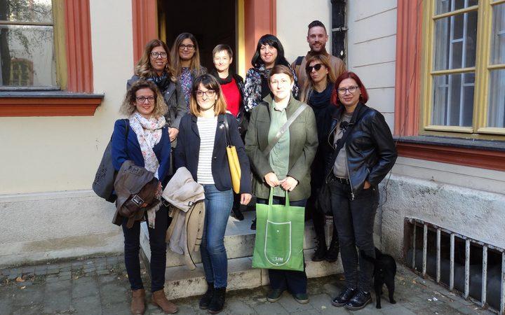 Poseta nacionalnog tima ESS Slovenije Srbiji