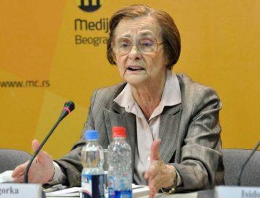 In memoriam Zagorka Golubović