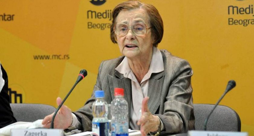 In memoriam: prof. dr Zagorka Golubović, prva upravnica Instituta za sociološka istraživanja