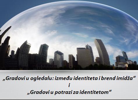 """Sociološki klub: razgovor o knjigama """"Gradovi u ogledalu: između identiteta i brend imidža"""" i """"Gradovi u potrazi za identitetom"""""""