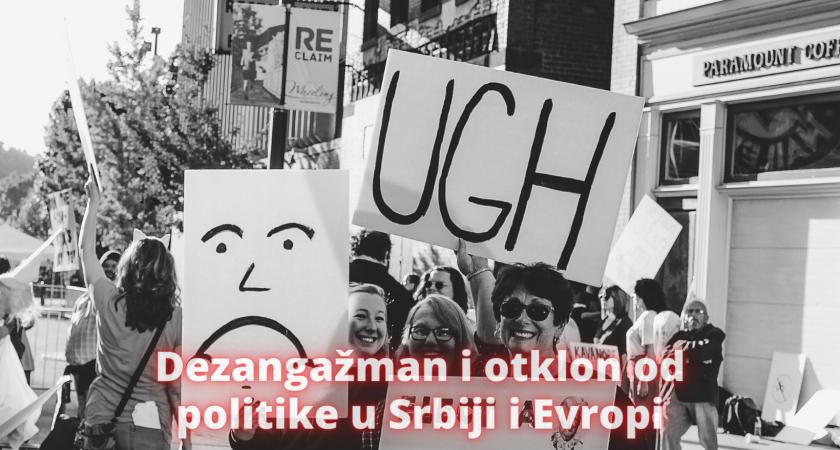 Nalazi Evropskog društvenog istraživanja #4: Dezangažman i otklon od politike